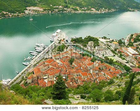 Kotor Old Town And Kotor Bay, Montenegro