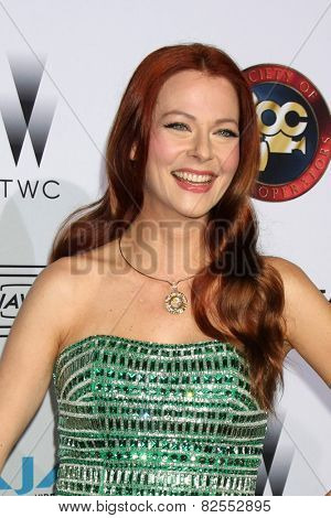 LOS ANGELES - FEB 8:  Anna Easteden at the 2015 Society Of Camera Operators Lifetime Achievement Awards at a Paramount Theater on February 8, 2015 in Los Angeles, CA