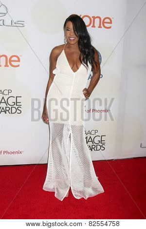 LOS ANGELES - FEB 6:  Golden Brooks at the 46th NAACP Image Awards Arrivals at a Pasadena Convention Center on February 6, 2015 in Pasadena, CA