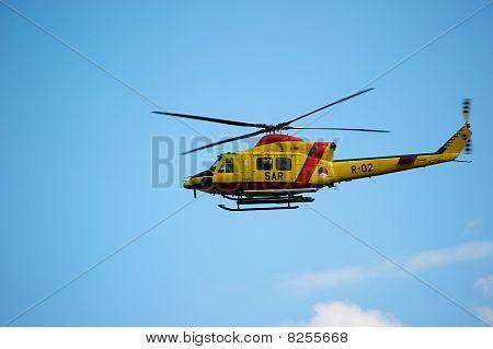 Helicóptero de euro en Sunderland Air Show