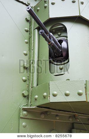 Machine Gun Of Tank Mark V