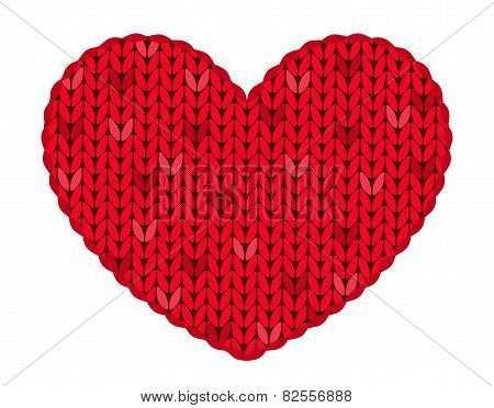 The Knitted Heart