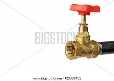 Bronze Faucet And Pipe