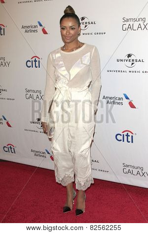 LOS ANGELES - FEB 8:  Kat Graham at the Universal Music Group 2015 Grammy After Party at a The Theater at Ace Hotel on February 8, 2015 in Los Angeles, CA