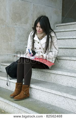 university outdoors