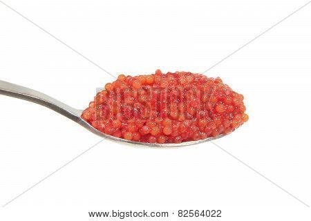 Lumpsucker (cyclopterus Lumpus) Caviar On A Teaspoon