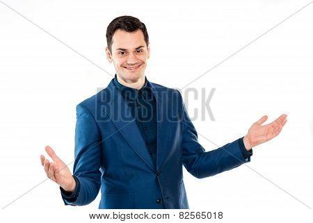 Handsome professional businessman