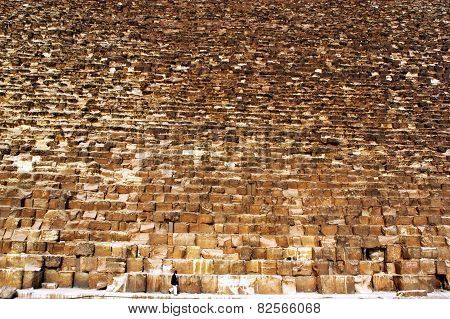 The Great Pyramids In Giza