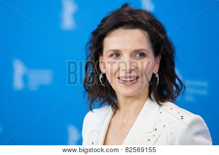 BERLIN, GERMANY - FEBRUARY 05: Juliette Binoche attend the 'Nobody Wants the Night. 65th Berlinale International Film Festival at Grand Hyatt Hotel on February 5, 2015 in Berlin, Germany.