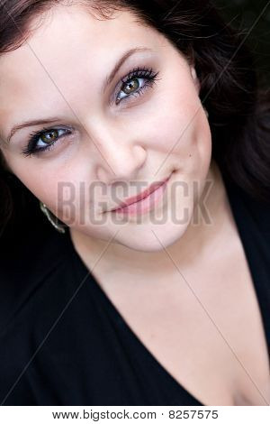 Pretty Woman Close Up