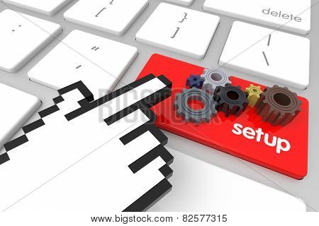 Setup Enter Key