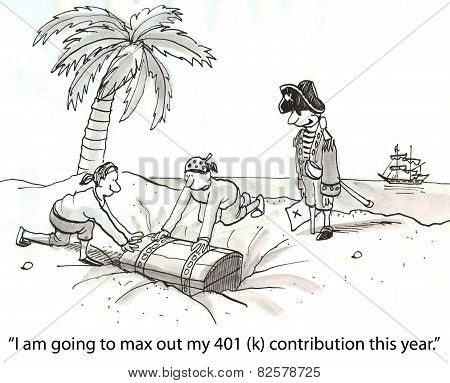 Pirate 401(k) Contribution