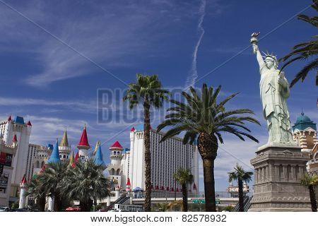 Day View Of Las Vegas Strip