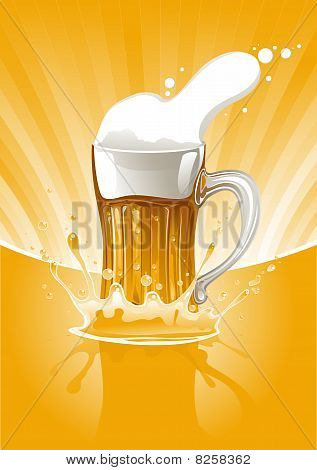 Fresh Beer Mug