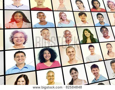 Diverse Diversity Ethnic Ethnicity Team Teamwork Unity Concept