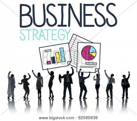 Business  Strategy Ideas Sucess Concept