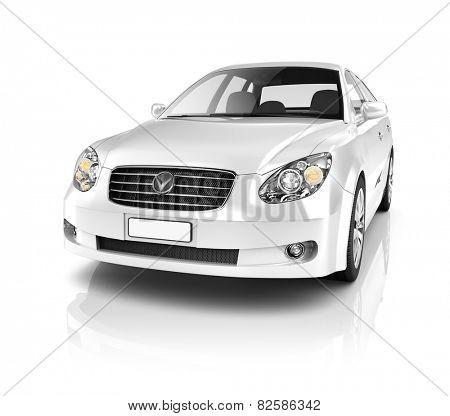 Illustration of Transportation Technology Car Performance Concept