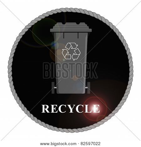 Recycle Bin Emblem