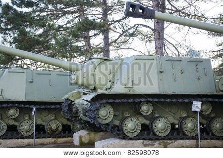 Old Soviet Tanks