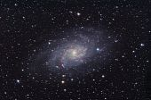 M33 Galaxy Between Triangulum And Andromeda Constellations