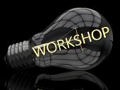 stock photo of lightbulb  - Workshop  - JPG