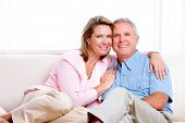 pic of family planning  - Senior couple at new home - JPG