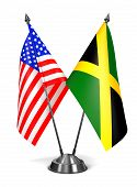 picture of jamaican flag  - USA and Jamaica  - JPG