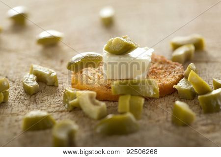 Antipasto With Cheese And Olive