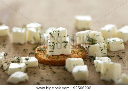 Antipasto With Cheese And Dill