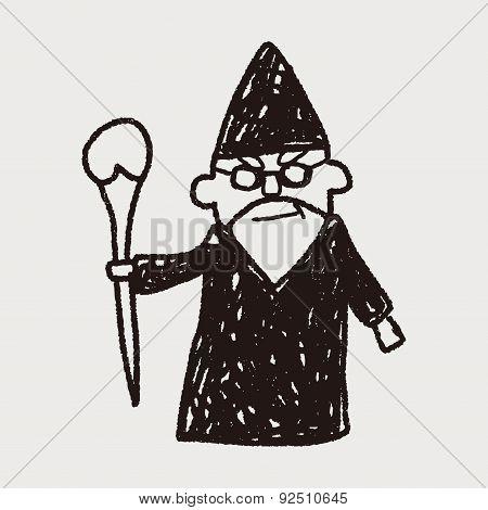 Wizard Doodle
