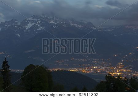 View From Leysin