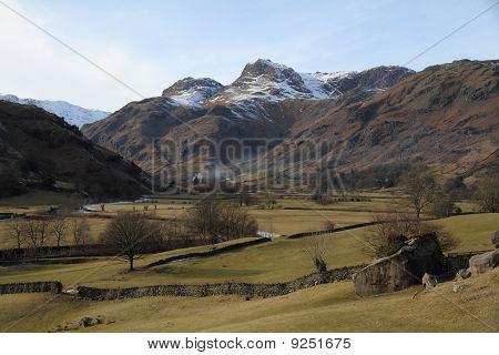 English mountain valley