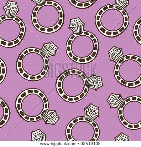 pattern ring white