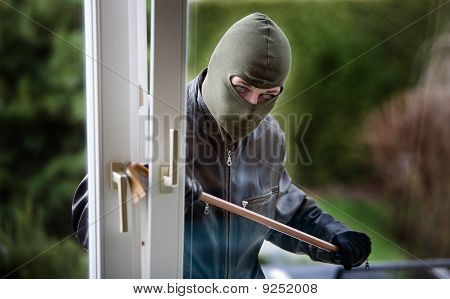 Burglar At A Window