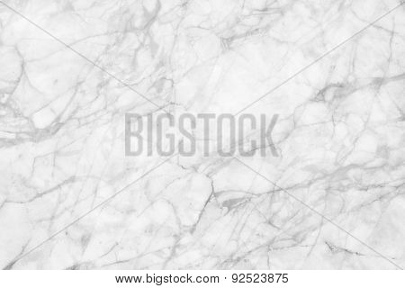 White marble patterned texture background. abstract natural marble black and white gray for design.
