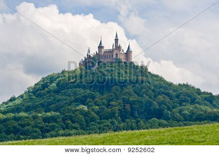 Hohenzollern Castle In The Black Forest, Germany