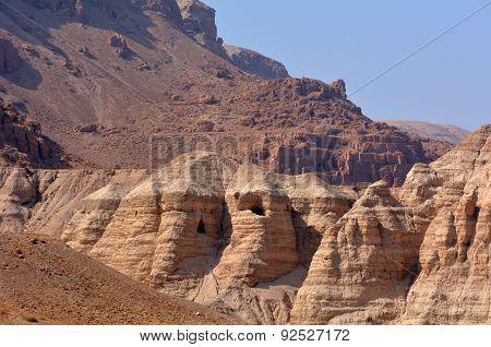 Qumran Caves  Dead Sea  Israel