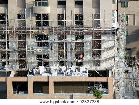 Construction Of Apartment Building