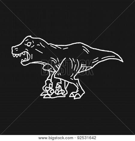 Tyrannosaurus Dinosaur Doodle