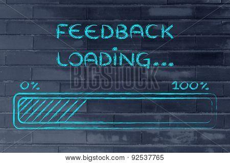 Funny Progress Bar With Feedback Loading