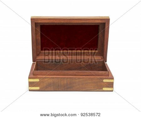Open Wooden Chest