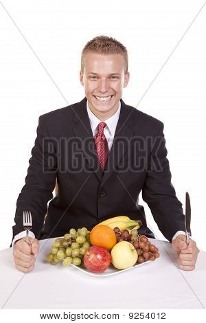 Happy With Fruit Plate