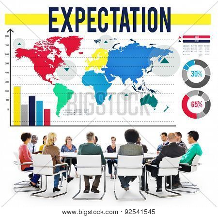 Expectation Hope Expecting Prediction Assumption Concept