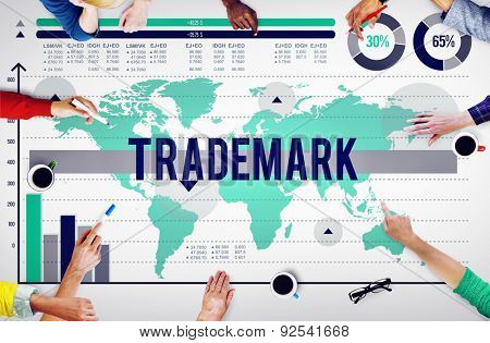 Trademark Branding Copyright Identity Marketing Concept