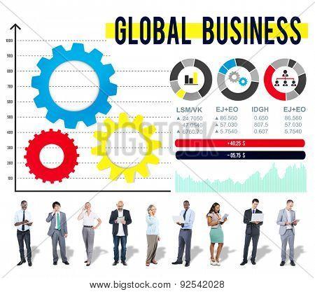 Global Business International Growth Enterprise Concept