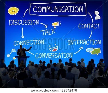 Communication Discussion Contact Conversation Concept