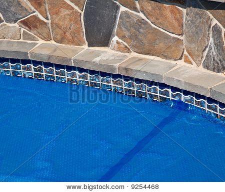 Blue Solar Pool Cover