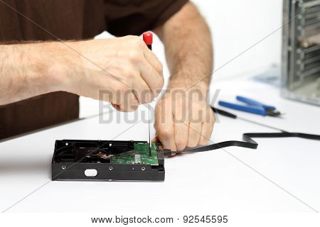 Man With Repairing Tools