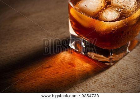 Droplets On A Glass