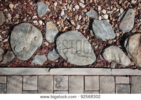 Cobble Stone, Chips, Pebble Texture